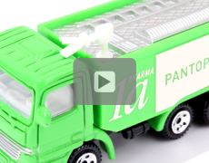 Direct Mailing Cardboard Box with Light Sensor & Fire-Engine Sound