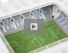 Football Stadium Model Do-it-yourself Assembly Kit #1